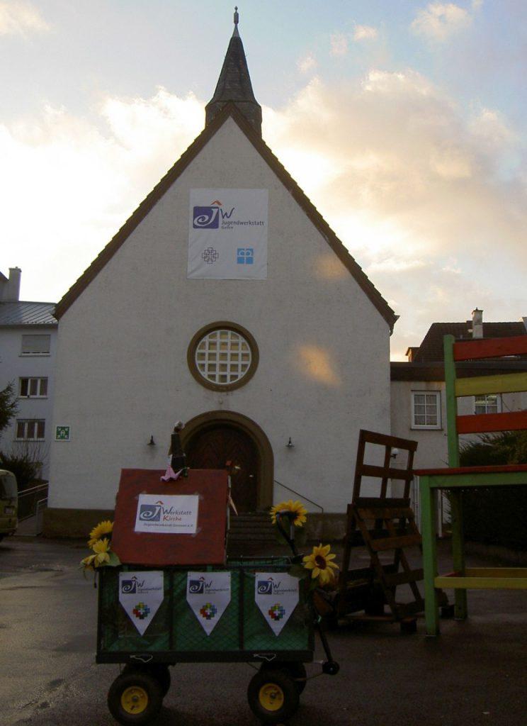 Unsere mobile Werkstattkirche