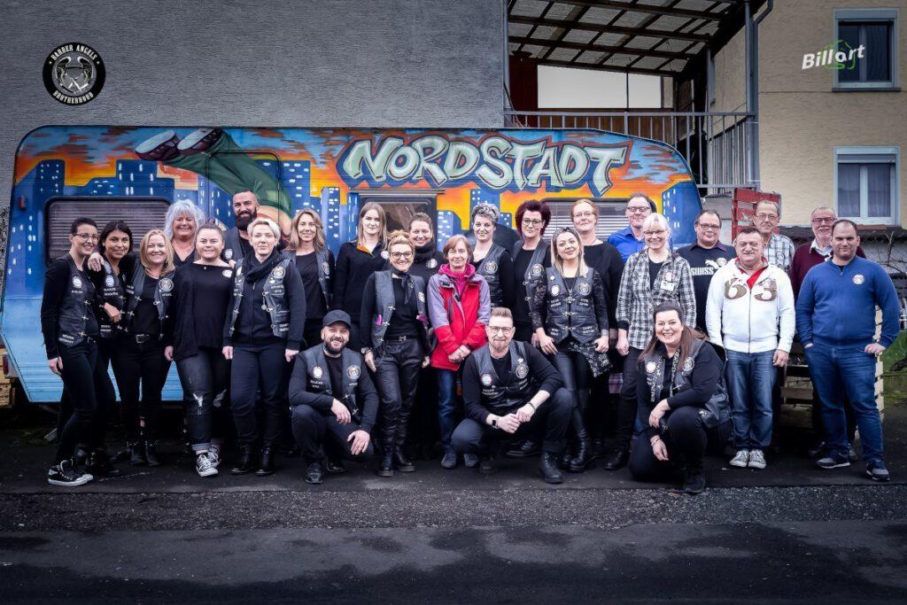 Die Barberangels und das Team der Werkstattkirche